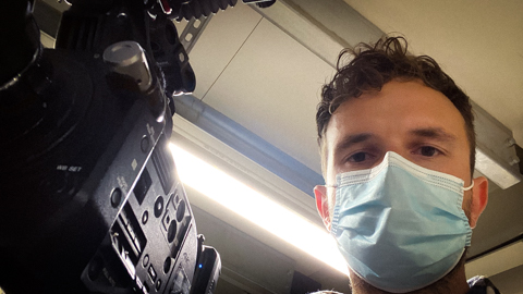 Filming wearing PPE