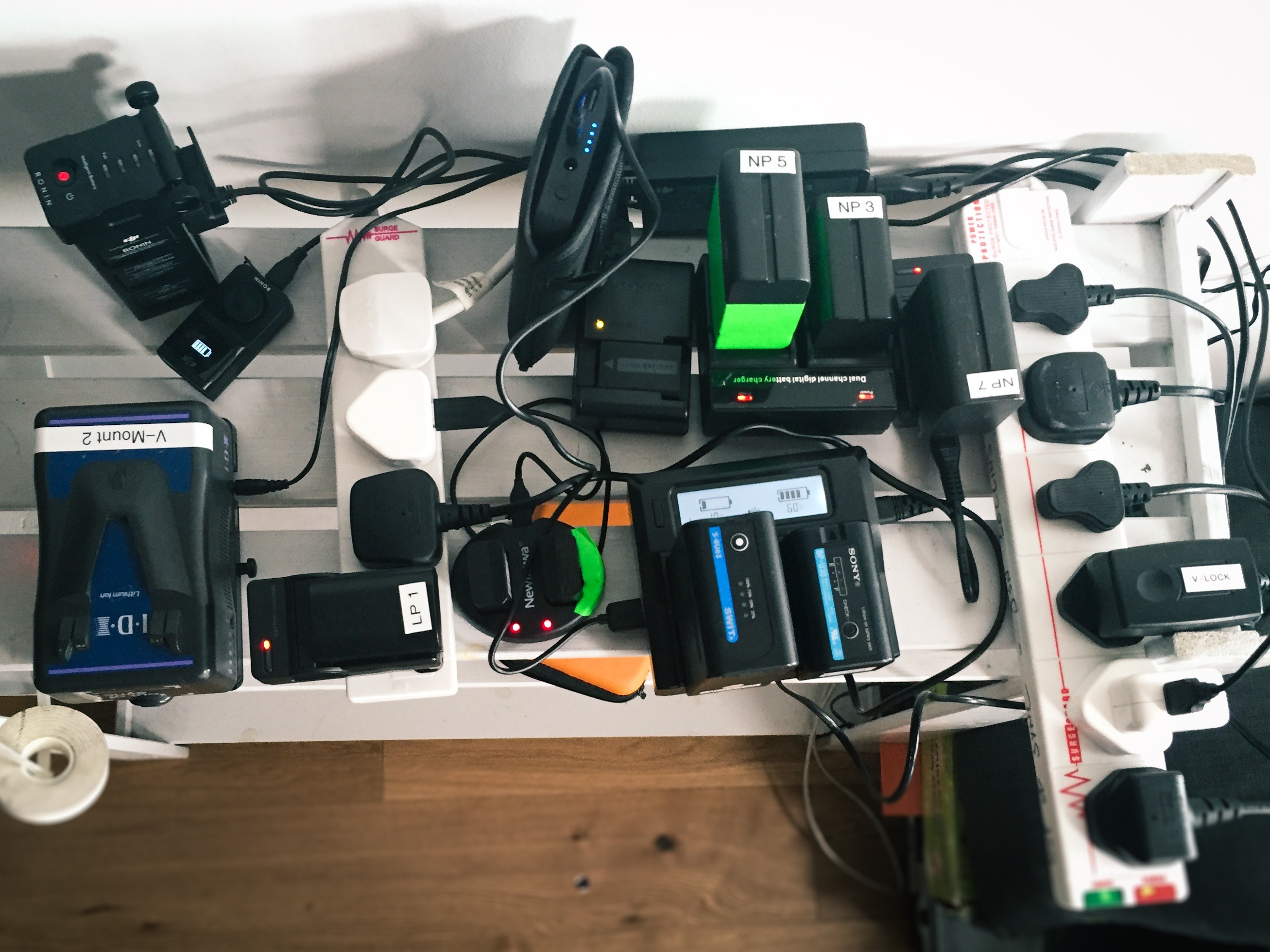 The problem: 8 different battery types